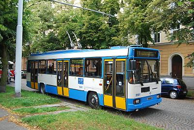 trolejbus 17Tr při oslavách 110 let MHD v Plzni