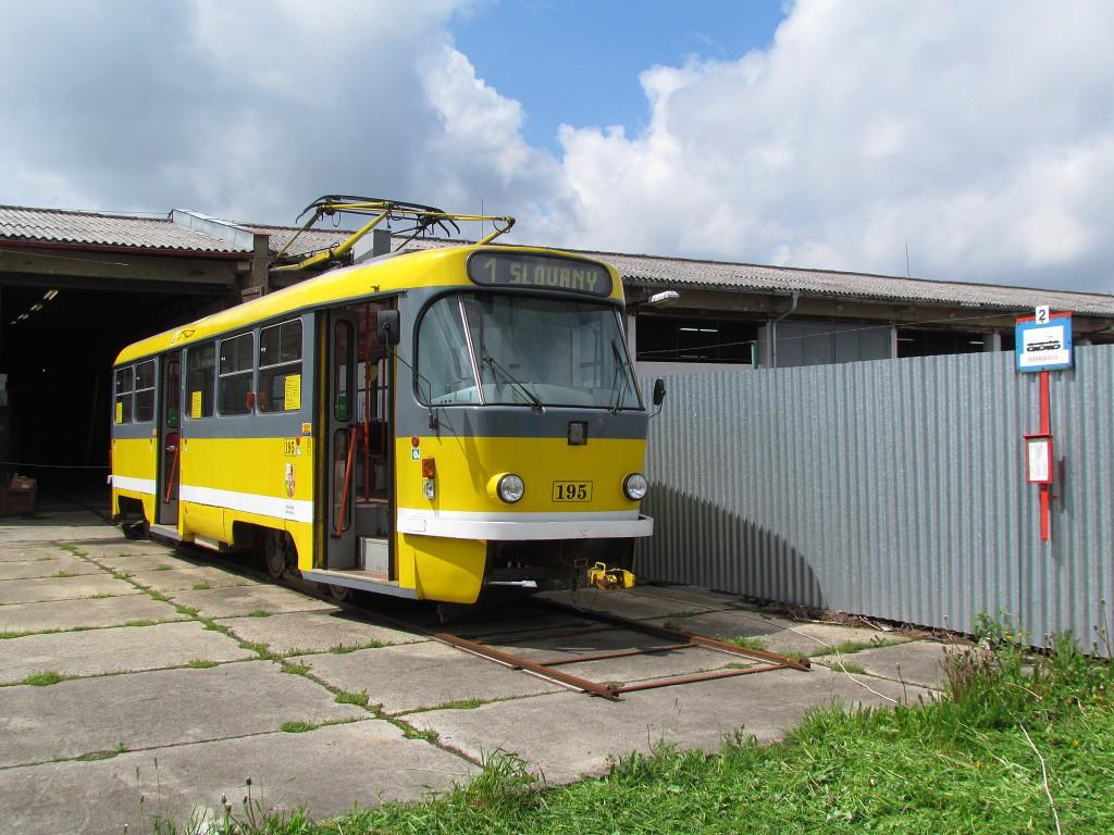 Tramvaj T3 v areálu muzea dopravy. 18.5.2013, Zdeněk Kresa.