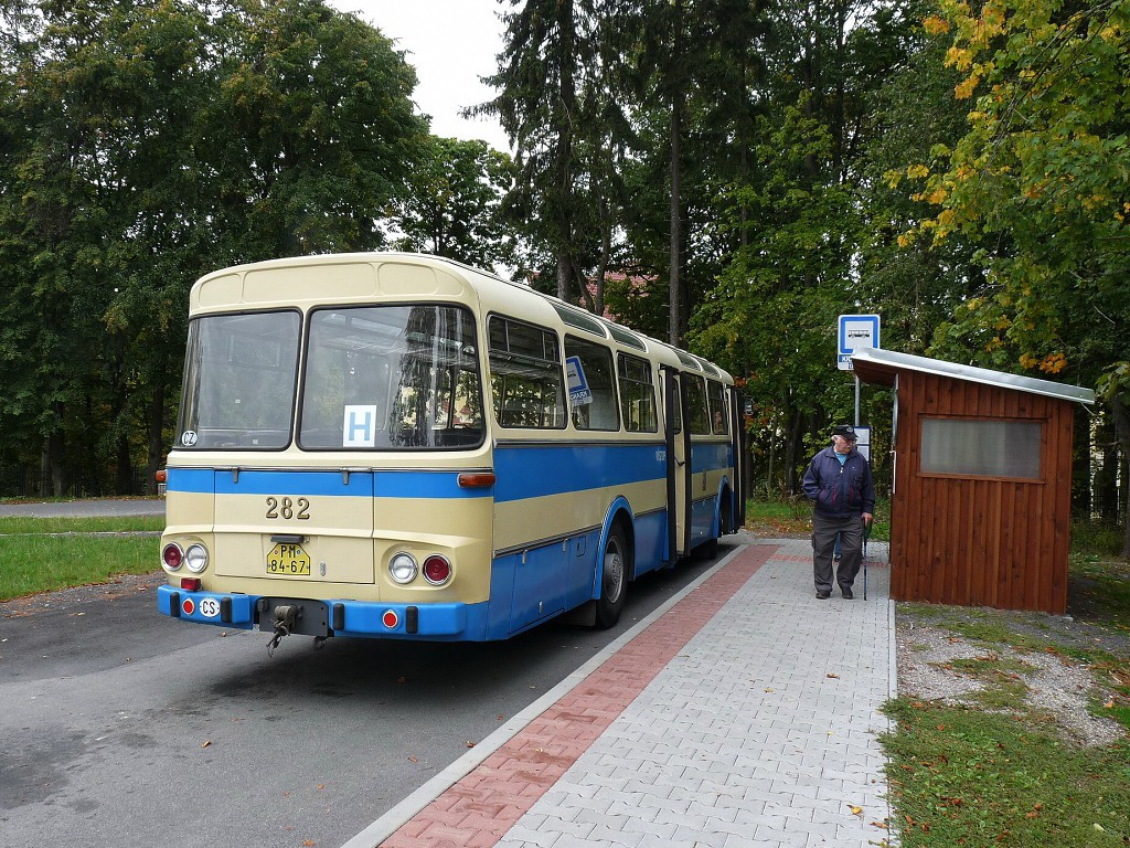 ŠLka při přestávce na konečné Krakonoš. 26.9.2015, Michal Kouba.